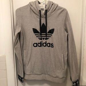 NWT Adidas Originals Pique Slim Fit Hoodie